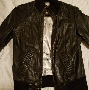 Mackage for Aritzia Lamb Leather jacket